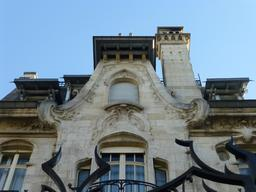 Maison art nouveau avenue Foch à Nancy. Source : http://data.abuledu.org/URI/5819109e-maison-art-nouveau-avenue-foch-a-nancy