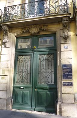 Maison art nouveau avenue Foch à Nancy. Source : http://data.abuledu.org/URI/581910e2-maison-art-nouveau-avenue-foch-a-nancy