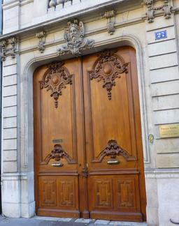 Maison art nouveau avenue Foch à Nancy. Source : http://data.abuledu.org/URI/5819111a-maison-art-nouveau-avenue-foch-a-nancy