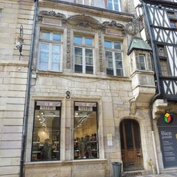Maison Chisseret à Dijon. Source : http://data.abuledu.org/URI/59d46b61-maison-chisseret-a-dijon