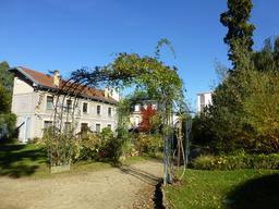 Maison Corbin et jardin du musée de l'école de Nancy. Source : http://data.abuledu.org/URI/5818fe01-maison-corbin-et-jardin-du-musee-de-l-ecole-de-nancy