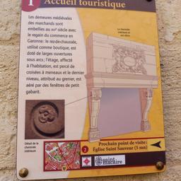 Maison de pays à Saint-Macaire-33. Source : http://data.abuledu.org/URI/599a9e4a-maison-de-pays-a-saint-macaire-33