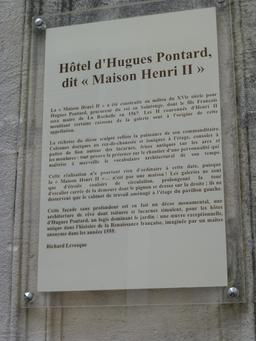 Maison Henry II à La Rochelle. Source : http://data.abuledu.org/URI/5821e8fc-maison-henry-ii-a-la-rochelle