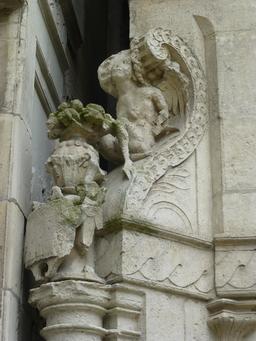Maison Henry II à La Rochelle. Source : http://data.abuledu.org/URI/5821e9ec-maison-henry-ii-a-la-rochelle