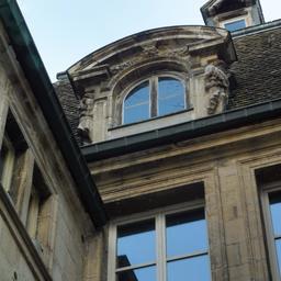 Maison Maillard 38 rue des forges à Dijon. Source : http://data.abuledu.org/URI/59d476e0-maison-maillard-38-rue-des-forges-a-dijon