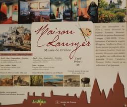 Maison-musée Lansyer à Loches. Source : http://data.abuledu.org/URI/55e44581-maison-musee-lansyer-a-loches