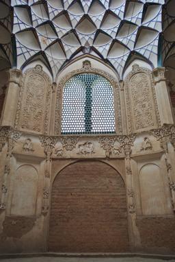 Maison persane Borujerdis en Iran. Source : http://data.abuledu.org/URI/5954ef4c-maison-persane-borujerdis-en-iran