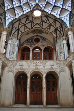 Maison persane Borujerdis en Iran. Source : http://data.abuledu.org/URI/5954efaa-maison-persane-borujerdis-en-iran