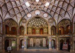Maison persane de Boroujerdi. Source : http://data.abuledu.org/URI/5954fd44-maison-persane-de-boroujerdi