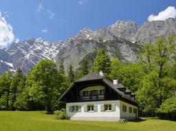 Maison traditionnelle en Bavière. Source : http://data.abuledu.org/URI/59490a70-maison-traditionnelle-en-baviere