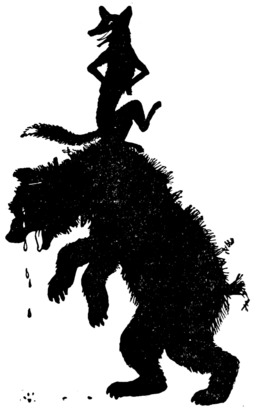 Maître Renart et l'Ours Brun, conte de Grimm. Source : http://data.abuledu.org/URI/50d35f50-maitre-renart-et-l-ours-brun-conte-de-grimm