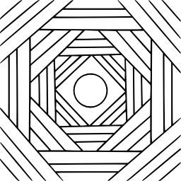 Mandala à colorier. Source : http://data.abuledu.org/URI/5330ccef-mandala-a-colorier