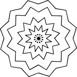 Mandala à colorier. Source : http://data.abuledu.org/URI/5330cea8-mandala-a-colorier