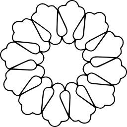 Mandala à colorier. Source : http://data.abuledu.org/URI/5330cf22-mandala-a-colorier