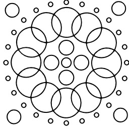 Mandala à colorier. Source : http://data.abuledu.org/URI/53313310-mandala-a-colorier