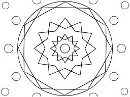 Mandala à colorier. Source : http://data.abuledu.org/URI/53313648-mandala-a-colorier