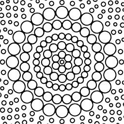 Mandala à colorier. Source : http://data.abuledu.org/URI/533136ae-mandala-a-colorier