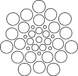 Mandala à colorier. Source : http://data.abuledu.org/URI/53313723-mandala-a-colorier