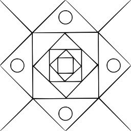 Mandala à colorier. Source : http://data.abuledu.org/URI/53313bc5-mandala-a-colorier
