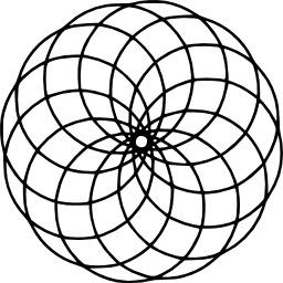 Mandala à colorier. Source : http://data.abuledu.org/URI/53313bfa-mandala-a-colorier