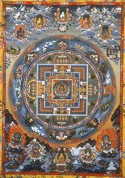 Mandala, archétype de la totalité. Source : http://data.abuledu.org/URI/529e5c1c-mandala-archetype-de-la-totalite