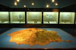 Maquette de l'île de Gran Canaria. Source : http://data.abuledu.org/URI/52d16849-maquette-de-l-ile-de-gran-canaria