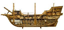 Maquette de navire marchand du XVIIème siècle. Source : http://data.abuledu.org/URI/548422d6-maquette-de-navire-marchand-du-xviieme-siecle