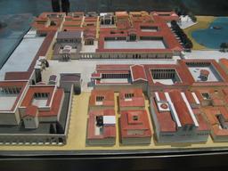 Maquette de Pergame. Source : http://data.abuledu.org/URI/52bef8c9-maquette-de-pergame