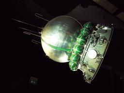 Maquette de vaisseau spatial. Source : http://data.abuledu.org/URI/52fb9858-maquette-de-vaisseau-spatial