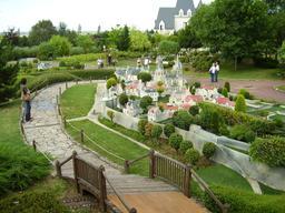 Maquette du château de Loches. Source : http://data.abuledu.org/URI/50f14ea5-maquette-du-chateau-de-loches