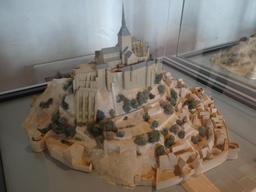 Maquette du Mont-Saint-Michel. Source : http://data.abuledu.org/URI/54a883e7-maquette-du-mont-saint-michel