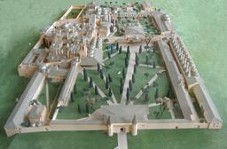 Maquette du Palais de Topkapi. Source : http://data.abuledu.org/URI/51138b2e-maquette-du-palais-de-topkapi