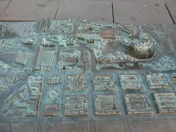 Maquette du plan en relief d'Édimbourg. Source : http://data.abuledu.org/URI/55df6b7d-maquette-du-plan-en-relief-d-edimbourg
