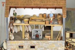 Maquette historique à Hambourg. Source : http://data.abuledu.org/URI/5852fd86-maquette-historique-a-hambourg