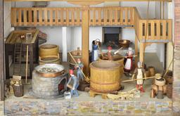 Maquette historique à Hambourg. Source : http://data.abuledu.org/URI/5852fe06-maquette-historique-a-hambourg