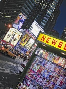 Marchand de journaux à New York. Source : http://data.abuledu.org/URI/50d876b6-marchand-de-journaux-a-new-york