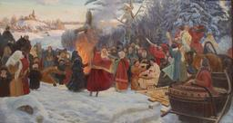 Mardi gras orthodoxe en Russie au XVIIème siècle. Source : http://data.abuledu.org/URI/54db5872-mardi-gras-orthodoxe-en-russie-au-xviieme-siecle