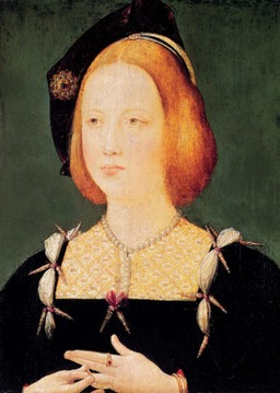 Marie Tudor d'Angleterre, reine de France en 1514. Source : http://data.abuledu.org/URI/53f45b02-marie-tudor-d-angleterre-reine-de-france-en-1514
