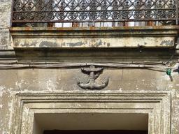 Mascaron d'ancre de marine à Bordeaux. Source : http://data.abuledu.org/URI/5826e2ee-mascaron-d-ancre-de-marine-a-bordeaux