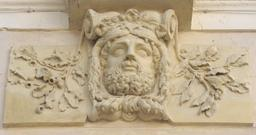 Mascaron d'Hercule. Source : http://data.abuledu.org/URI/50564617-mascaron-d-hercule