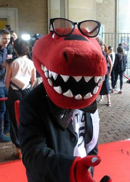 Mascotte de crocodile. Source : http://data.abuledu.org/URI/58854ad2-mascotte-de-crocodile