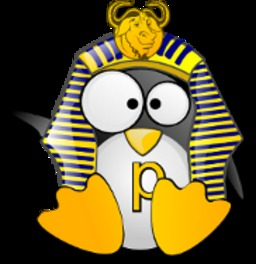 Mascotte de Tux Papirux. Source : http://data.abuledu.org/URI/5091af8d-mascotte-de-tux-papirux