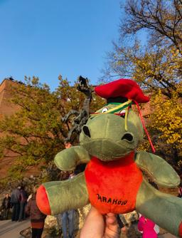 Mascotte du dragon de Cracovie. Source : http://data.abuledu.org/URI/55104c54-mascotte-du-dragon-de-cracovie