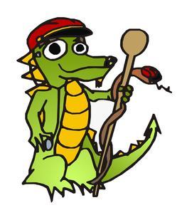 Mascotte du dragon de Wawel. Source : http://data.abuledu.org/URI/55104924-mascotte-du-dragon-de-wawel