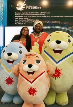 Mascottes des jeux coréens 2014. Source : http://data.abuledu.org/URI/588546f2-mascottes-des-jeux-coreens-2014