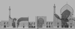 Masjid Shah en 1840. Source : http://data.abuledu.org/URI/565208da-masjid-shah-en-1840