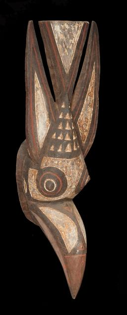 Masque africain d'oiseau. Source : http://data.abuledu.org/URI/55427bd3-masque-africain-d-oiseau