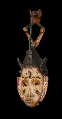 Masque Gouro de Côte d'Ivoire. Source : http://data.abuledu.org/URI/549df4a5-masque-gouro-de-cote-d-ivoire