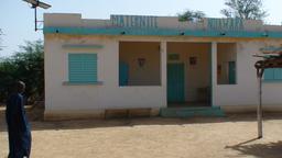 Maternité de Ndiawara au Sénégal. Source : http://data.abuledu.org/URI/52e4e17a-maternite-de-ndiawara-au-senegal