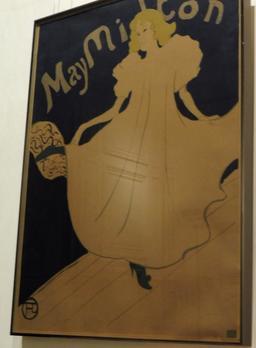 May Milton au Musée Toulouse-Lautrec à Albi. Source : http://data.abuledu.org/URI/59c1917b-may-milton-au-musee-toulouse-lautrec-a-albi